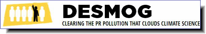 Desmog Blog | Clearing the PR Pollution that Clouds Climate Science