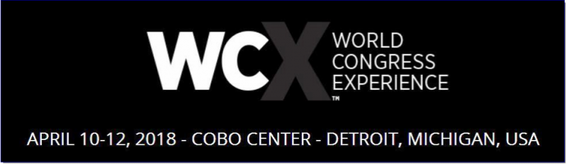 Experience the Evolution  At WCX™: SAE World Congress Experience practical meets potential. The premier talent in the automotive and mobility industry converge to address current challenges, discover new avenues of exploration, and explore the promise of the future of transportation engineering in an interactive experience.