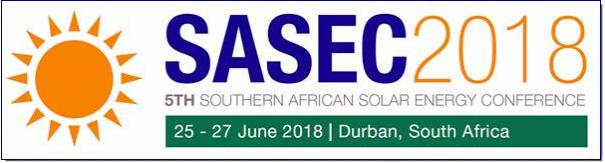 This is the first time SASEC will be coming to South Africa's ocean side playground, where the warm African sun meets the balmy waters of the Indian Ocean. Come and join us!  The conference will focus on both Solar Photovoltaic and Solar Thermal Energy technology systems and applications. The conference provides the opportunity for researchers, engineers, technologists and individuals to share and discuss recent developments in the field. It is a particularly good opportunity for postgraduate students to showcase their research progress, network and develop knowledge of solar energy technologies.