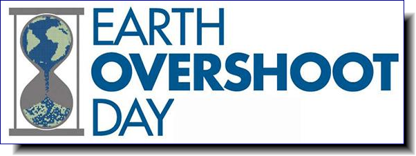 Earth Overshoot Day | marks the date when humanity's demand for ecological resources and services in a given year exceeds what Earth can regenerate in that year