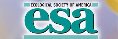The Ecological Society of America (ESA) is a nonpartisan, nonprofit organization of scientists founded in 1915