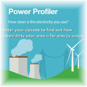 Enter your ZIP code and electric utility to:      Compare the fuel mix and air emissions rates of the electricity in your region to the national average.     Determine the air emissions impacts of electricity use in your home or business