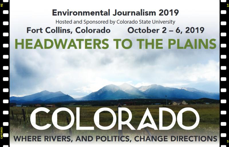 WHERE RIVERS, AND POLITICS, CHANGE DIRECTIONS  Download the flyer.     Colorado simultaneously boasts and suffers from a population explosion in Denver and other cities. This purple state is fertile ground for both clashes and collaborations among parties vying for rights to land, water and air, whether to preserve it for wildlife and human recreation or to exploit it for energy extraction. And it is fertile ground for stories!