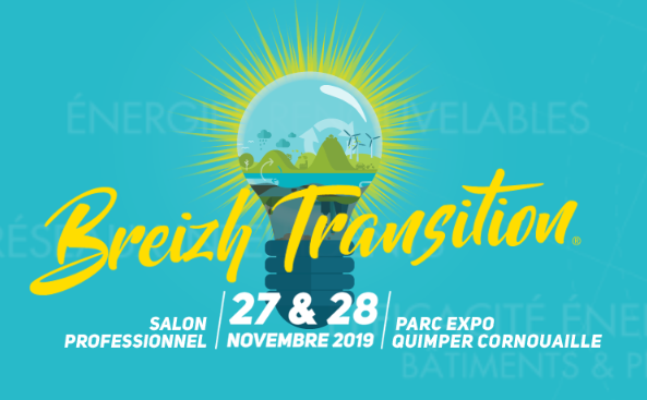 SOLUTIONS TO ACCELERATE YOUR ENERGY TRANSITION NEXT 2019 EDITION  Rich of a first BtoB edition in November 2017, which gathered seventy exhibitors, attracted a thousand attendees and welcomed Nicolas Hulot minister of the ecological transition, Breizh Transition firmly considers the promotion and the implementation of the solutions for the energy transition as a major development opportunity, and is looking forward to welcome you on November 2019 :