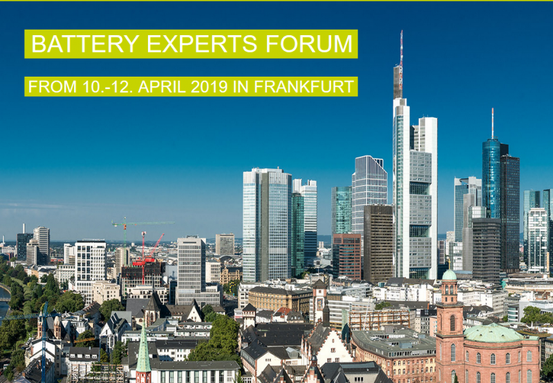 DISCOVER TRENDS. FIND SOLUTIONS. Discover the hottest trends in battery and charging technology live and up close. Exchange with experts. And bring your knowledge up to date - at our BATTERY EXPERTS FORUM. Expect high class speakers and top topics. This and this event is an absolute must for those involved in battery technologies. We cordially invite you!