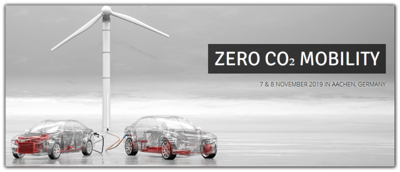 "After the positive feedback in 2018 the international FEV conference on ""Zero CO2 Mobility"" will take place again in 2019. Again, the conference will offer a platform for strategic discussion on the potential and performance of various zero CO2 emission strategies and introduce the latest developments in the fields of battery technologies, fuel cells and e-fuels.  You are cordially invited to register for conference as an attendee and join the other experts from the fields of research, development and politics. If you want to contribute to the conference program as a speaker then please refer to the below call for papers document and contact us with the information below."
