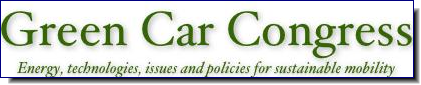 Green Car Congress | Energy, technologies and issues for sustainable mobility