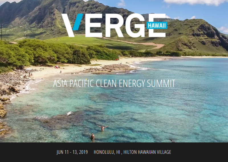 VERGE Hawaii will share lessons learned during the State's clean energy journey and explore the technical, political and cultural solutions necessary to build a clean, resilient economy. Join more than 700 key stakeholders — from government, military, corporations, utilities, NGOs and solution providers — to develop new partnerships and learn about the innovative technologies and fresh, practical solutions that will increase economic and community resilience, in Hawaii and beyond.