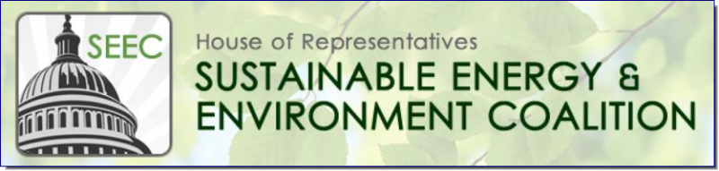 The purpose of the House of Representatives Sustainable Energy & Environment Coalition:      Advance policies that promote clean energy technology innovation and domestic manufacturing, develop renewable energy resources, and create green collar jobs throughout the product supply-chain.     Advance policies to help arrest global warming and protect our nation's clean air, water and natural environment.