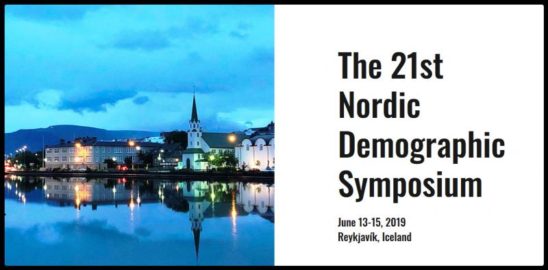 The 21st Nordic Demographic Symposium will be held on June 13-15, 2019 in Reykjavík. The symposium brings together researchers, students, and other experts in population studies from the Nordic region.   The main theme of the NDS 2019 is the past 50 years of innovative research in Nordic demography. The sessions will include presentations from all main areas of demographic research.   The meeting will be held in the conference hall Harpa in the center of Reykjavík (see on map).   The symposium is organized by the Swedish Demographic Association and Stockholm University Demography Unit (SUDA), in collaboration with the newly founded Icelandic Demographic Association and the University of Iceland.