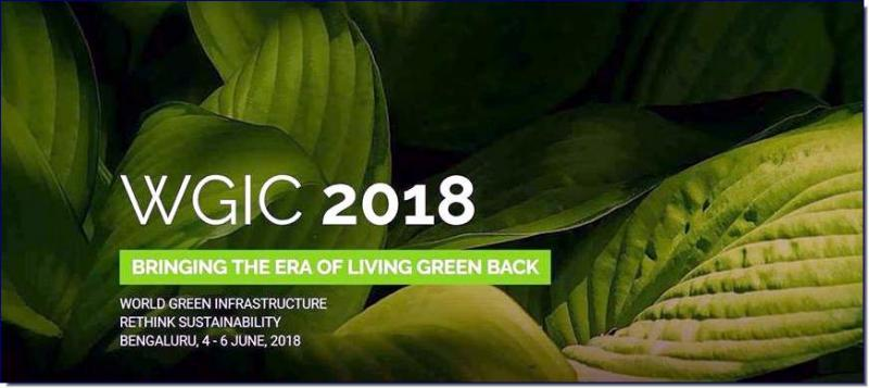 The World Green Infrastructure Congress 2018 will be host by the Indian Green Infrastructure Network IGIN, as a proud member of WGIN. Greening on roofs, indoor and on facades will be presented in an Asian fast growing country. Exchange with well known experts. Exchange with project developer to make our cities more environmental friendly.