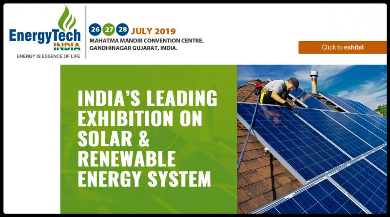 We are pleased to inform you that BSL Confrence & Exhibition Pvt Ltd is organizing Energy Tech India Expo 2019 from 26-27-28 July 2019 at India Mahatma Mandir Convention Centre, Gandhinagar Gujarat,India. Expo provides the ultimate business solutions for the meetings and events industry, uniting an elite class of buyers from India and around the world. Exhibitors benefit from the opportunity to meet with a range of international and regional buyers who have the authority to place real business.  India is developing to reduce its dependence on conventional energy sources and become a leader in renewable energy with increased global awareness on environmental concerns and energy security.The promotion of renewable energy sources and technologies is one of the crucial strategies to bridge the demand- supply gap in the power sector in an environmentally sustainable manner as well as to pave the way for a strategic shift from future import dependence on fossil fuels the energy security angle.