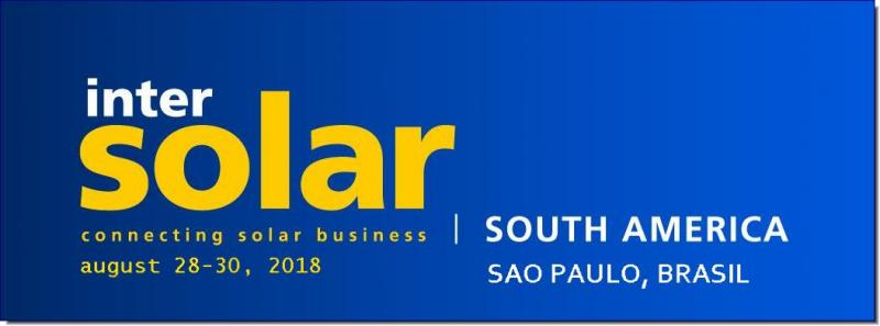 "Intersolar South America will be hosting and highlighting the special exhibition ""ees South America"" to extend and round up electrical energy storage innovations and programs. ees South America is the industry hotspot for suppliers, manufacturers, distributors and users of stationary and mobile electrical energy storage solutions. Covering the entire value chain of innovative battery and energy storage technologies – from components and production to specific user application - it is the ideal platform for all stakeholders in the rapidly growing energy storage market."