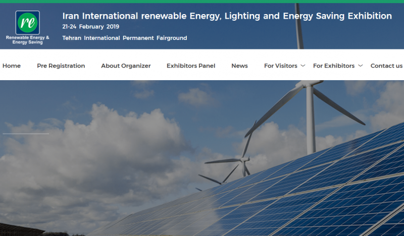 Having held eight extremely successful Renewable Energy & Energy Efficiency Exhibitions, the exhibition organizer is planning to hold the next edition of Iran International Renewable Energy Lighting & Energy Saving Exhibition, focusing on the Renewable Energy & Energy-Saving and environmental sectors and addresses the capable companies and successful organizations in the field of energy to exhibit their latest achievements in the related fields.