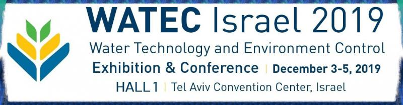 We are truly excited and honored to invite you to the WATEC 2019 Exhibition & Conference, which will take place this September in Tel Aviv.  Exactly a decade ago the WATEC concept was established in Israel, in order to allow water professionals, stake holders and innovators from around the globe to share their experiences regarding the current and future trends of the vibrant water arena.  Israel was a natural choice for such an event, as it is one of the first and fewest countries to successfully overcome its limitation in water resources. This was accomplished through education, intelligent water management and first and foremost implementation of innovative technologies.