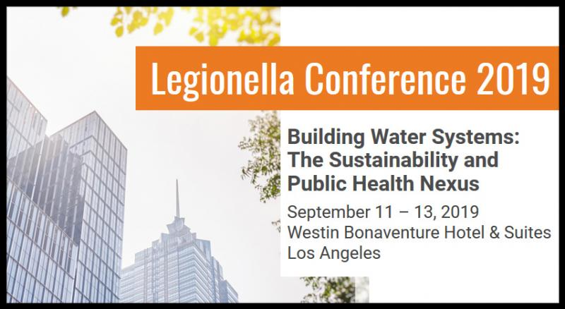 "The Legionella Conference, hosted by NSF International and the National Environmental Health Association, is a unique, annual event that focuses on emerging issues related to building water systems - and brings professionals together to work toward solutions.  The 2019 Legionella Conference theme, ""Building Water Systems: The Sustainability and Public Health Nexus,"" centers on how both industries can help align water and energy sustainability and public health goals."