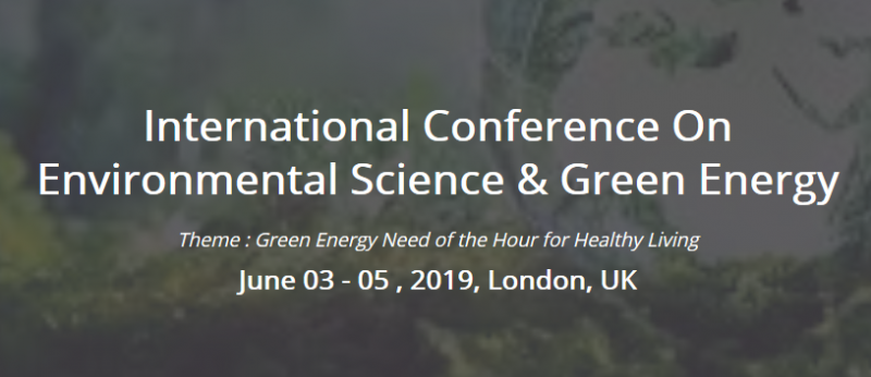 Welcome to Environmental Science & Green Energy 2019  Conference Elite promotes conferences, events, seminars, and open discussions based on different fields of science globally. We bring the scientific communities, research scholars and science professionals together on a single platform to better human lives across the nations. Every day the world witnesses newer developments, discoveries and inventions in a world of science and on technological fronts. It is these developments, discoveries and inventions that Conference Elite strives to bring it onto the platform for scientists, researchers, professionals, technologists and qualified experts from the same or similar fields to communicate and share with each other the knowledge and wisdom in order to benefit the people of the world at large.