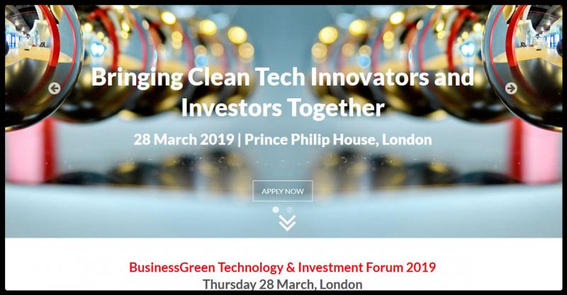 The event will bring together sustainable tech investors and sustainable tech companies to jointly explore investment trends, opportunities, and challenges offered by the UK's fast expanding green economy. Places are strictly limited and are reserved for those organisations best placed to benefit from the event.  The event is designed for companies and investors who are working on or planning funding rounds, as well as companies who are not necessarily looking directly for funding but are looking to promote their technology, raise their profile with potential future investors, and explore a range of different growth opportunities.  Successful applicants will get the opportunity to deliver a four minute presentation on their technology and business to an audience of their peers and prospective investors.