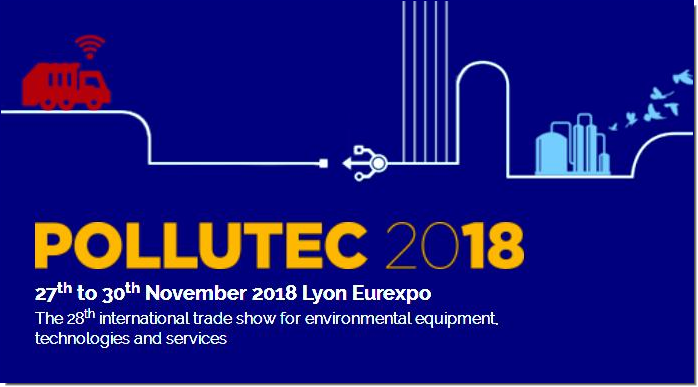 POLLUTEC 2018, the international trade show for environmental and energy stakeholders working for economic performance