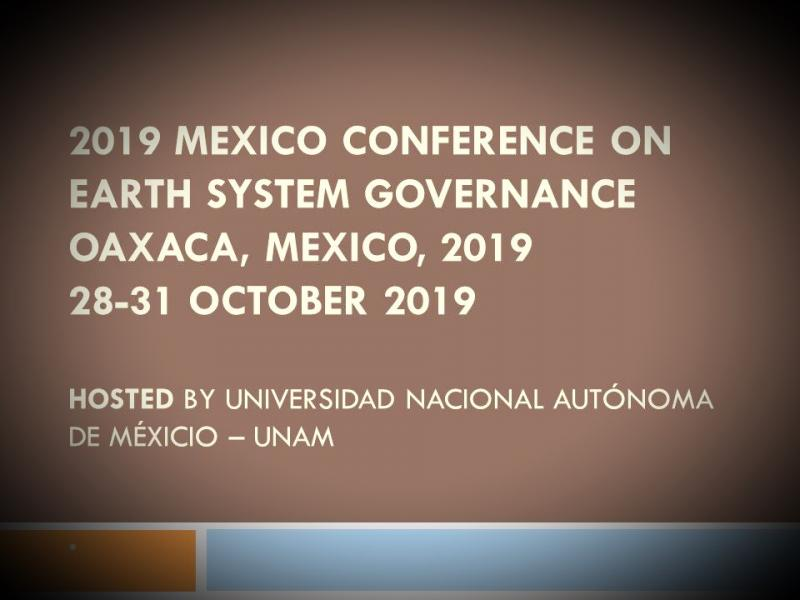 Hosted by Universidad Nacional Autónoma de Méxicio – UNAM. Founded in 1551, UNAM is a public Mexican university, the largest in the country and Latin America.  A winter school in the Sierra de Juárez will be organized for early-career researchers prior to the conference.  More information and the Call for Papers will be released soon.