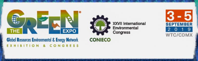 THE GREEN EXPO®  is the most important event Mexico and Latin America for industries interested in Profitable Solutions within a Sustainable Circular Economy.