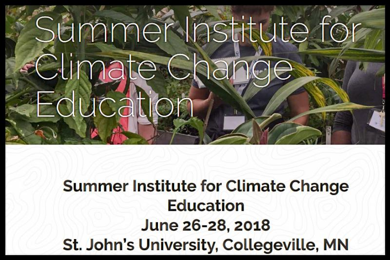 Join a network of teachers from across the country dedicated to bringing science, critical thinking, and problem solving about climate change into the classroom!