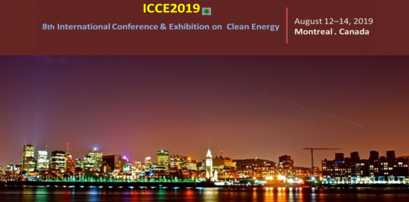 This conference is organized to share and discuss recent developments in clean energy sector. The aim of ICCE 2019 is to gather researchers, scientists, engineers, practitioners, policy makers, from all over the world to present advances in the clean energy technologies. We are in an era in which there is a continuous progress in green energy sources and technologies and ICCE 2019 will provide a forum to exchange information, present new technologies and developments, and discuss the future direction, strategies and priorities in the field of clean energy.