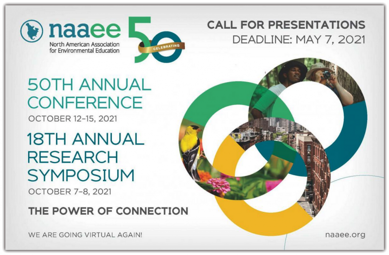 NAAEE seeks compelling proposals that focus on the power of connection—building on all we've learned about how education helps bring people together from all backgrounds and disciplines to solve our most pressing problems and create more just and sustainable communities.