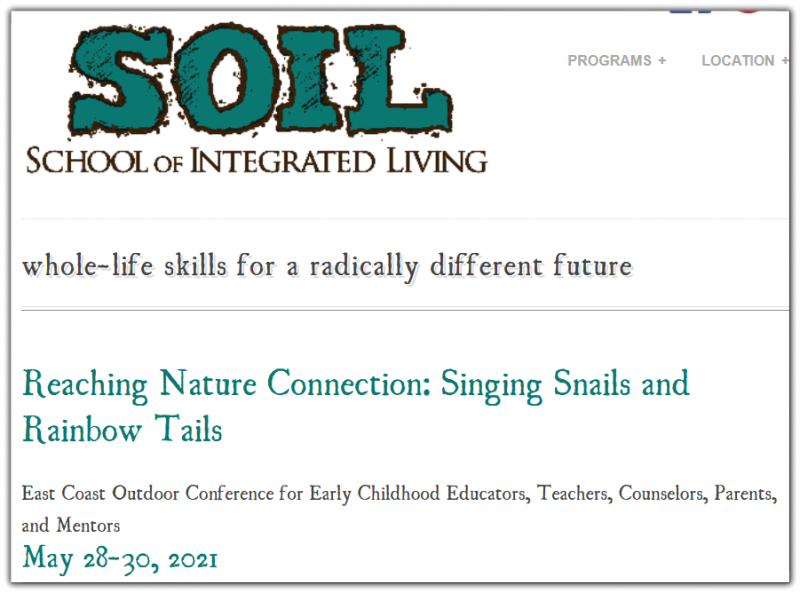With this year's theme, Singing Snails and Rainbow Tails, presenters Lia Grippo, Kelly Villarruel, and Erin Boehme will immerse participants in timeless crafting, joyful singing, and the freedom of play all in the spirit of the young child.
