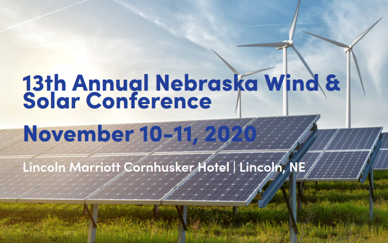 Shaped by volunteers from state agencies, farmer and rancher organizations, public power utilities, the renewable energy industry, and academia - the Nebraska Wind & Solar Conference aims to present accurate and objective information pertaining to all aspects of wind and solar development.