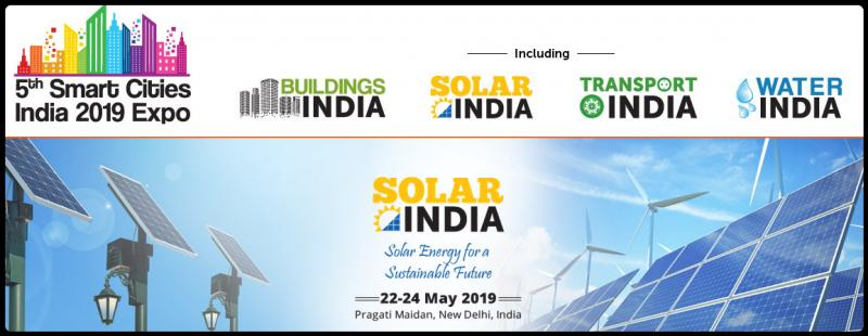 Welcome to Solar India expo      Solar – An endless source of human energy needs.     India is set to become one of the largest solar hub globally in the coming years.     The country has set a target to achieve 100 GW solar power by 2021-22 worth Rs 6,000 billion.     The installed solar capacity crossed 20 GW in January 2018, with 18.4 GW in the form of ground-mounted projects and 1.6 GW on rooftops.