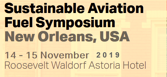 Leveraging on the great success last year, the 2019 Sustainable Aviation Fuel Symposium will take place on 14 and 15 November 2019 at Roosevelt Waldorf Astoria Hotel, New Orleans, USA.  More than 200 delegates met in Singapore in 2018 and discussed key topics concerning the commercial deployment of sustainable aviation fuel.  This annual event evolved as a valuable gathering for:      Building business relationships     Learning about new technologies     Understanding global and regional policies     Recognizing sustainability requirements     Exploring collaborative solutions for deployment  AFS 2018 Pictures  Have a look at the AFS 2018 pictures! ​    ​​​​  Following immediately from the IATA Fuel Forum, the Alternative Fuel Symposium will bring together both fuel procurement, and environmental specialists from airlines – an essential ingredient for striking off-take agreements. The 2018 event brought together more than 40 individual airlines and over 20 producers and suppliers.