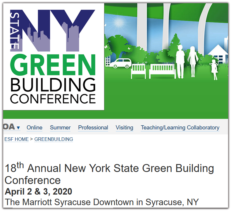 As the premier green building conference in the Northeast, our progressive advisory council has fostered our growth by consistently bringing together top green building researchers, educators, and practitioners.  Conference participants represent many industries including architecture, engineering, construction, consulting, deconstruction, landscape architecture, government, higher education, K-12 education, state agencies, real estate, and management firms.