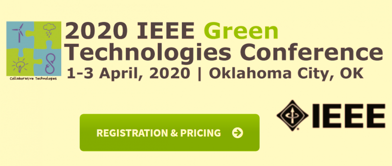 This conference attempts to draw insights and encourage collaboration from many disciplines and backgrounds to address these challenges of Green and clean energy sources added to energy mix but also see challenges to the energy grid operations requiring active management of all the available energy sources to help build a resilient power grid.   The 12th Annual IEEE Green Technology Conference hopes are to draw insights and encourage collaboration from the many disciplines with industrial collaborators in addressing these challenges.