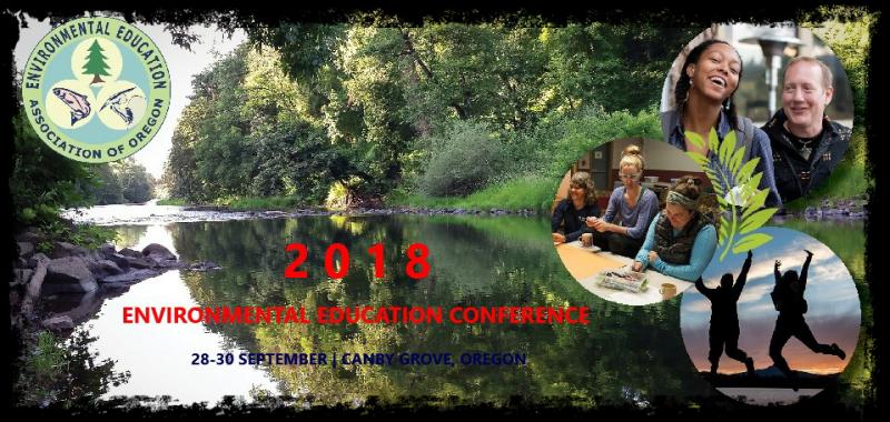 We are pleased to issue a call for presenters for our 2018 Conference at Canby Grove, north of Salem, Oregon, from September 28th - 30th. The conference brings together educators from across Oregon for professional development, networking, and inspiration.  Selected presenters will:      Register for the full conference by August 15. (Participate in as much or as little as your schedule allows.) A $45 discount code will be offered to accepted presenters. Work-trade scholarships are also available. Sorry, we will not be able to accommodate     other partial monetary requests.     Ideally incorporate outdoor time.     Allow for some flexibility in room locations and set-ups. Gazebo location; Theater seating, round tables, classroom-style.