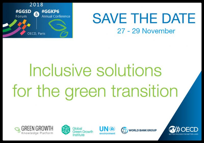 The OECD will convene its Green Growth and Sustainable Development (GGSD) Forum under the theme, 'Inclusive solutions for the green transition'. The Forum will take place in conjunction with the 6th annual conference of the Green Growth Knowledge Platform (GGKP). The GGSD Forum will address the political economy and low-carbon policy reforms, identify their distributional impacts, and explore inclusive solutions for households, workers, sectors and regions that may otherwise be hit hard by the transition to help them contribute to a greener future.