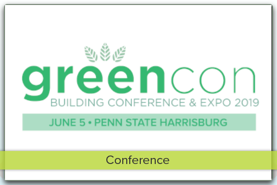Better buildings happen when we innovate, collaborate, and learn together. GreenCon is the flagship green building conference and expo of central Pennsylvania.  About  For GreenCon 2019, we'll be featuring a keynote by Scot Horst, the founder and previously the CEO of Arc Skoru Inc., a technology company established to build Arc, a state-of-the-art digital platform. Arc allows any project – whether a space, single building, community or an entire city – to measure improvements and benchmark against itself and projects around it.  GreenCon will also feature breakout sessions and a diverse expo hall.