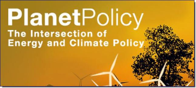 The Intersection of Energy and Climate Policy  A blog exploring environment and natural resources policy—from climate change to energy to water, and from the local to the national to the global.