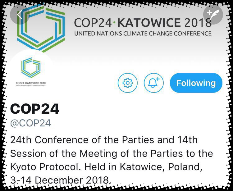 The Katowice Climate Change Conference will include the 24th session of the Conference of the Parties (COP 24) to the UNFCCC, along with meetings of the Conference of the Parties serving as the Meeting of the Parties to the Kyoto Protocol, the Subsidiary Body for Scientific and Technological Advice and the Subsidiary Body for Implementation, and the Conference of the Parties serving as the meeting of the Parties to the Paris Agreement.