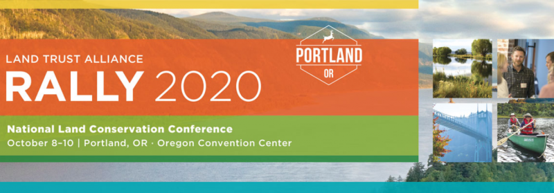 Don't miss this exciting gathering of nearly 2,000 passionate land conservation practitioners.