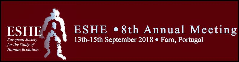 I would like to hereby officially invite you to the 8th annual meeting of the European Society for the study of Human Evolution (ESHE) in Faro, Portugal. The meeting will take place at the University of the Algarve (Universidade do Algarve) from the 13th – 15th of September, followed by an excursion to the Megalithic monuments of Alcalar and the Paleolithic site of Vale Boi on the 16th.
