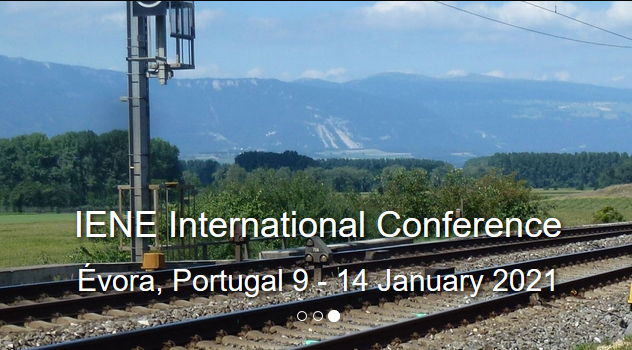 "The Infrastructure and Ecology Network Europe (IENE) and the University of Évora invite you to visit the website of IENE 2020 International Conference under the theme ""LIFE LINES - Linear Infrastructure Networks with Ecological Solutions"".  Here you will find the information needed to register and participate at the conference, as well as to prepare your travel to Évora, Portugal."