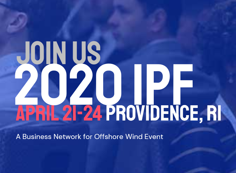 The Business Network for Offshore Wind's International Partnering Forum (IPF) is the leading technical conference for offshore wind in the United States and is dedicated to moving the industry forward.  Offshore wind brings new revenue streams and thousands of jobs to the US. The 2 1/2 days are packed with a cutting-edge educational program, top-notch exhibitors and abundant networking opportunities. Let's work together to keep moving this new US industry forward.