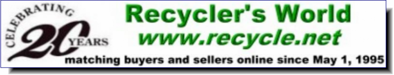 Recycler's World | Matching buyers & sellers online since May 1, 1995
