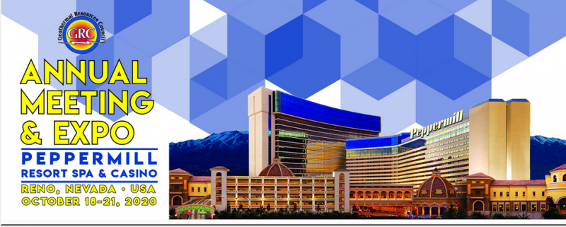 "Reno2020 Call for Sessions Opening Now… Due November 8, 2019  This is a ""Call for Sessions"" for the 2020 GRC Annual Meeting & Expo to be held at the Peppermill Resort in Reno, Nevada on October 18-21, 2020. We are inviting proposals for specific sessions at this year's meeting. Sessions can be organized and led by up to three people, a session chair and two co-chairs. Successful session chairs will be expected to assist the technical chair to recruit authors and organize reviews. A session will include at least four papers."