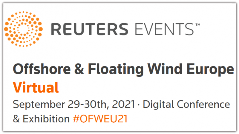 Reuters Events: Offshore & Floating Wind Europe Virtual will provide a complete update of where the industry is headed. Over 2 days, attendees will leave with not only a strategic outlook of markets, upcoming tenders, contracts and project updates, but also a technical understanding of how to raise standards throughout the project lifespan.