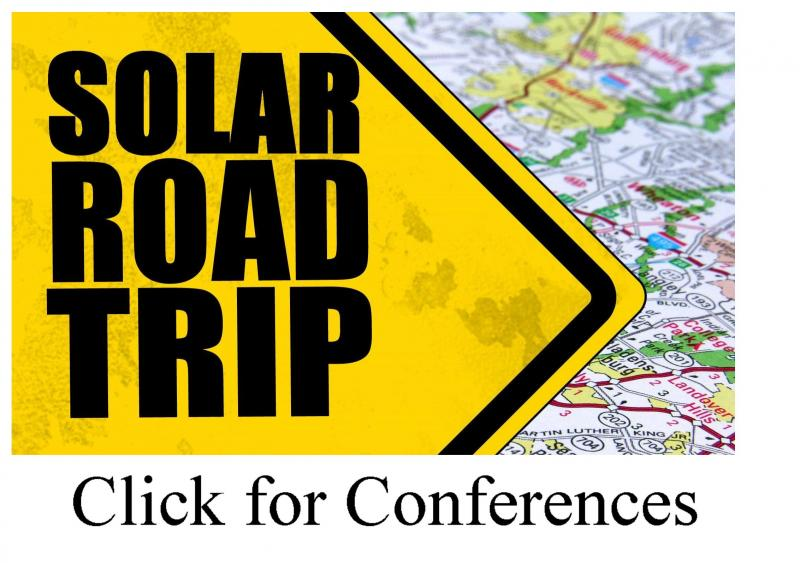 This will take you to the Solar Road Trips