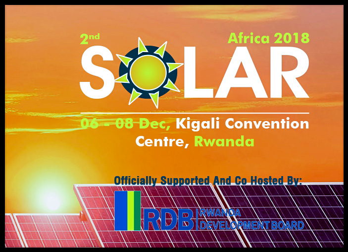 "ABOUT THE EVENT  Solar Africa - Solar Exhibition In Rwanda  The overwhelming response from the Solar Industry has encouraged Expogroup to launch Solar Africa Exhibition to be held concurrently with POWER & ENERGY Africa""  The region offers tremendous opportunities to suppliers worldwide, having among the strongest solar resources in the world. In particular, the region offers excellent potential for concentrated solar power (CSP) and concentrated photovoltaic (CPV) systems."