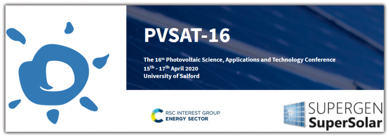 Photovoltaic Science, Applications and Technology Conference will feature areas like Crystalline silicon photovoltaics, Inorganic thin film, perovskite and excitonic photovoltaics, Tandem, multijunction and concentrator devices, Photodetectors, novel devices and new horizons in photovoltaics, Photovoltaic systems, components and grid integration, Performance measurements and field experience, and Policy & environment issues, including economics, market development and life cycle analysis.