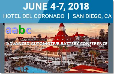 The 17th annual AABC event brought together 600 delegates from 20 vehicle OEMs, more than 30 battery manufacturers, and other key representatives of the battery supply chain for stimulating discussions and candid conversations on the future of automotive energy storage and vehicle electrification. AABC will continue to attract international thought leaders and chief battery technologists from major automobile makers and their suppliers to discuss key issues impacting the technology and market of advanced vehicles and the batteries that will power them. As the electric vehicle market expands amid increasing pressure from looming regulatory deadlines, the need to develop batteries with better performance and lower cost has never been stronger. AABC is committed to providing an invaluable opportunity to delve into these challenges, discuss breakthroughs and best practices, and learn from the researchers and engineers who are bringing these technologies forward to consumers.